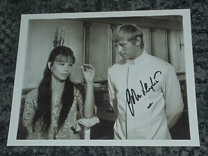 JOHN LEYTON-10x8 PHOTO SIGNED live in the 60/'s