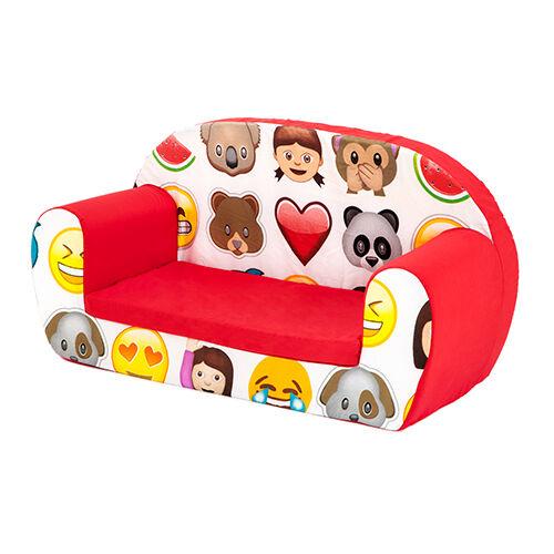 Emoji émoticônes kids children/'s double mousse canapé bébé siège nurserie chaise