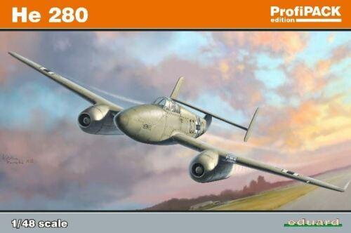 8068 PROFI-PACK PLASTIC KIT EDUARD 1//48 HE280 AIRCRAFT