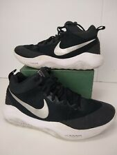 premium selection 70b93 46f6a item 6 Mens Nike Zoom Rev TB Basketball Shoes Sneakers Size 11.5 Black  Silver white EUC -Mens Nike Zoom Rev TB Basketball Shoes Sneakers Size 11.5  Black ...