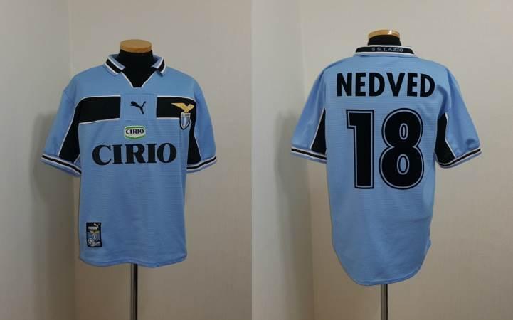 (S) Lazio Camiseta Jersey Maglia Italia Italia Nedved checo Juventus