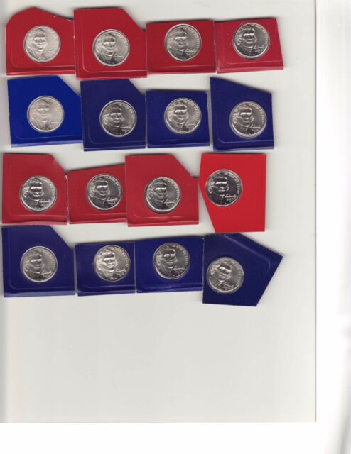 2010 to 2018 Jefferson Nickel BU MINT SET 18 coins in mint set wrappers