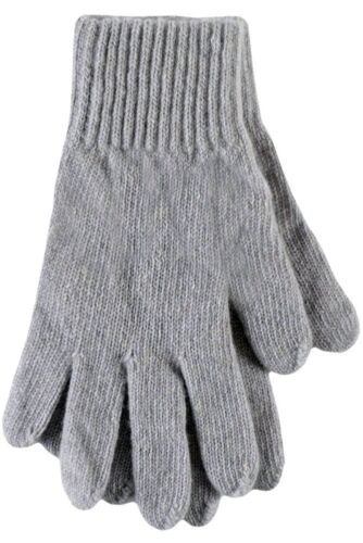 Ladies 1 Pair SockShop of London Made In Scotland 100/% Cashmere Plain Gloves In