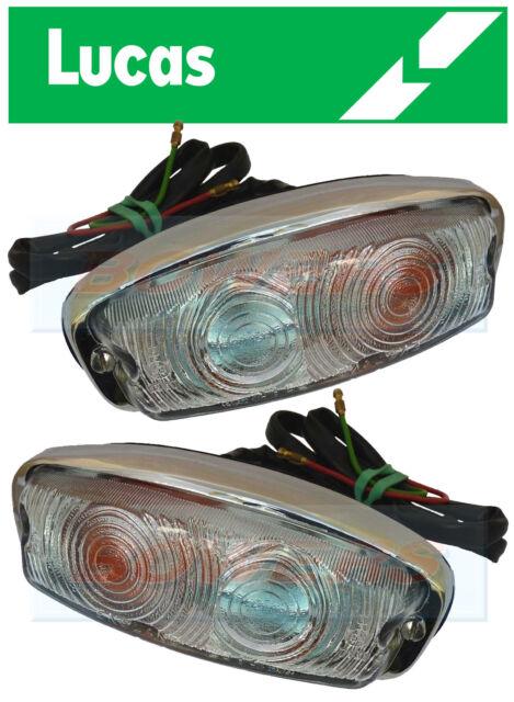 GENUINE LUCAS 52506 52507 L584 FRONT INDICATOR / SIDE LIGHTS LAMPS 13H428 13H429