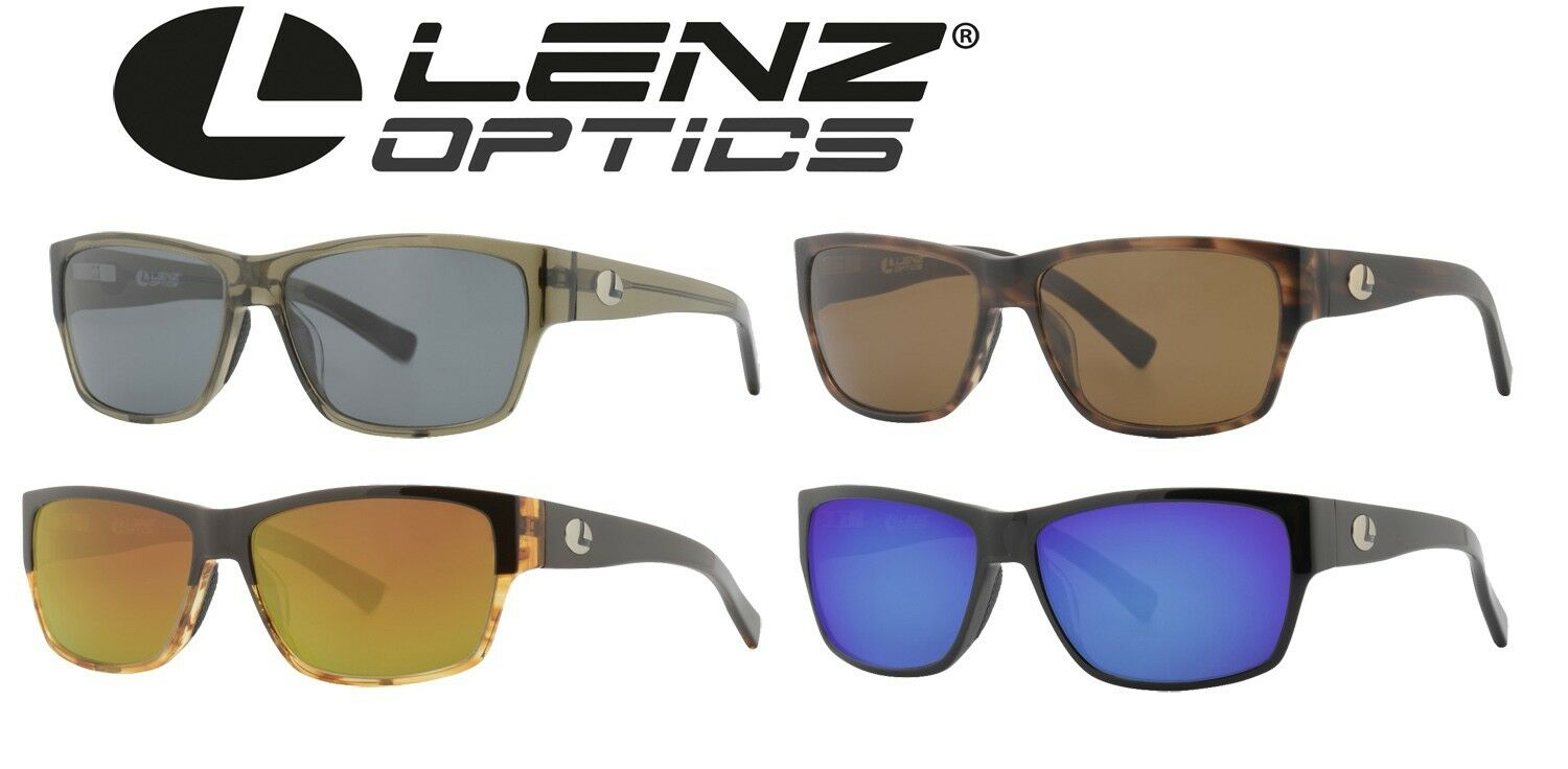 Lenz Optics Dee Sunglass Stainless Steel Hangers Acetate Frame-polbrille for Anglers