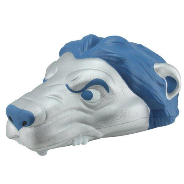 ad5f9291 Detroit Lions Foam Lion Head