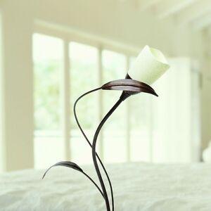 Lampe-de-table-classique-Lampe-de-chevet-Marron-31401