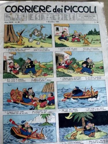 Moby Dick di Ferdinando Tacconi Corriere dei Piccoli 48 1957 C17