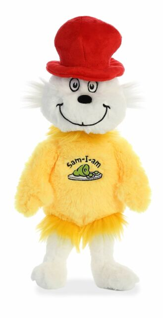 "Aurora - Dr Seuss - 12"" Sam I Am Plush Toy Animal"