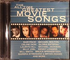 CELINE DION / MICHAEL JACKSON - All Time Greatest Movie Songs CD 1999 OOP VryGd