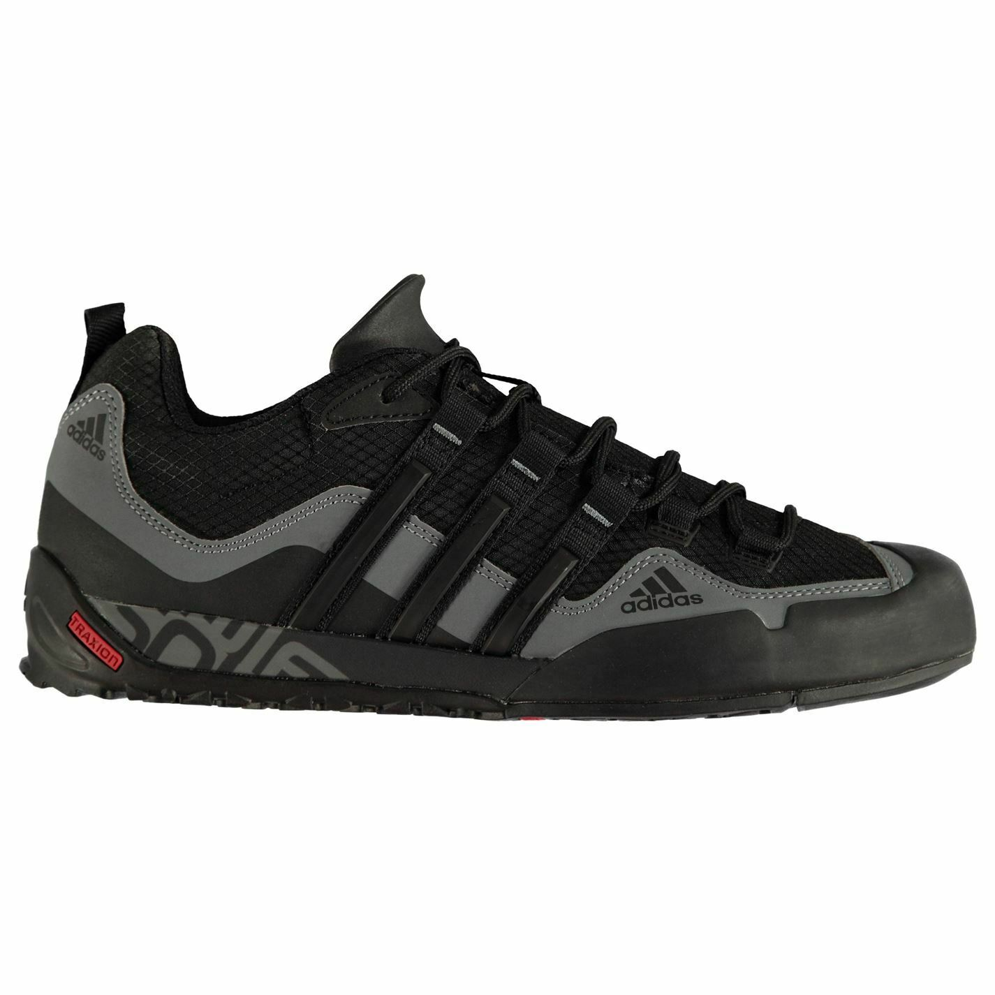 Adidas Mens Terrex Swift Solo Outdoor shoes Waterproof Walking Lace Up Padded