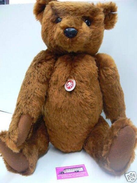 ST 1 Steiff Teddy aus braunem Mohairplüsch ca.55 cm limitiert 404009
