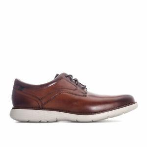 Homme-Garett-Plain-Toe-Chaussures-dans-cognac
