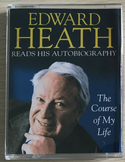 Audio Book EDWARD HEATH The Course of My Life on 2 cass BIOG read by the author