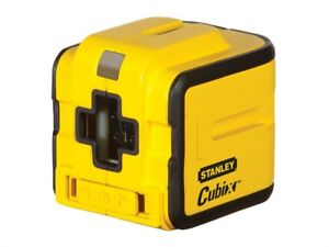 Stanley-Intelli-Tools-177340-Cubix-Self-Levelling-Cross-Line-Laser
