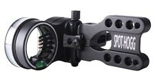 New Spot Hogg Real Deal Black Archery Bow Sight Large RH Wrapped 5 (.019) Pins