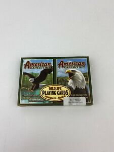 American-Expedition-Bald-Eagle-Playing-Cards-Set-Of-2-Decks-Casino-Quality