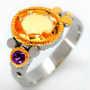 Deluxe-Design-Natural-9x7-Citrine-925-Sterling-Silver-Ring-RVS13