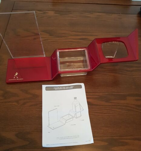 5 x Johnnie Walker Red Label Step Caddy's New