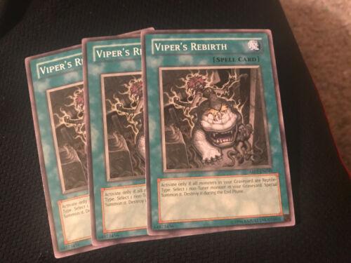 ABPF-EN049 3x Viper/'s Rebirth Common Unlimited Edition  YuGiOh NM