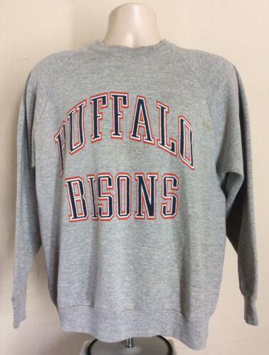 Vtg 80s Early 90s Buffalo Bisons Raglan Sweatshirt