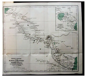 1882-Caravan-Routes-MASAI-COUNTRY-Victoria-Nyanza-MNT-KENYA-COLOR-MAP-12