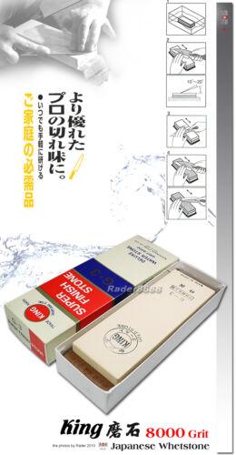 Japanese King Water stone Whetstone #8000 Grit Sharpening Stone Kitchenware