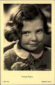 Schauspielerin-Kino-Buehne-Film-1940-TRAUDL-STARK-alte-Portraet-AK-Ross-Verlag
