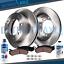 2006-2014 Express 2500 3500 Savana 2500 3500 Rear Brake Rotors Ceramic Pads