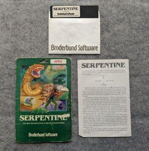 Serpentine-Apple-II-Broderbund-vintage-computer-game-1982