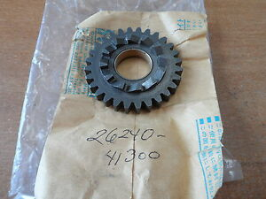 NOS-OEM-Suzuki-Kick-Starter-Drive-Gear-1975-1981-RM125-RM100-PE175-26240-41300