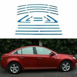 Full-Windows-Molding-Trim-Decoration-Strips-For-Chevrolet-Cruze-2010-2014