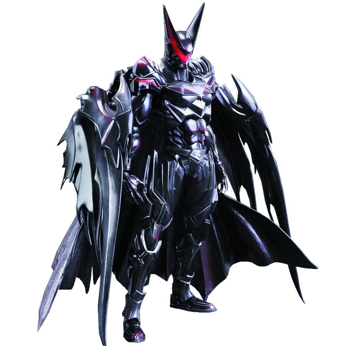 Dc Comics Variant Play Arts Kai Batman Tetsuya Figura Mib final Fantasy