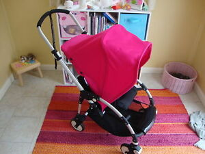 Image is loading Bugaboo-Bee-Red-Standard-Single-Seat-Stroller-2009 & Bugaboo Bee Red Standard Single Seat Stroller 2009 8717447010128 ...