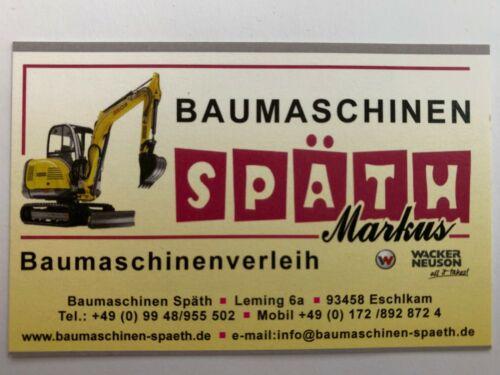 Neu Wacker Neuson PST 2-400 Tauchpumpe Schmutzwasserpumpe Baupumpe 230V