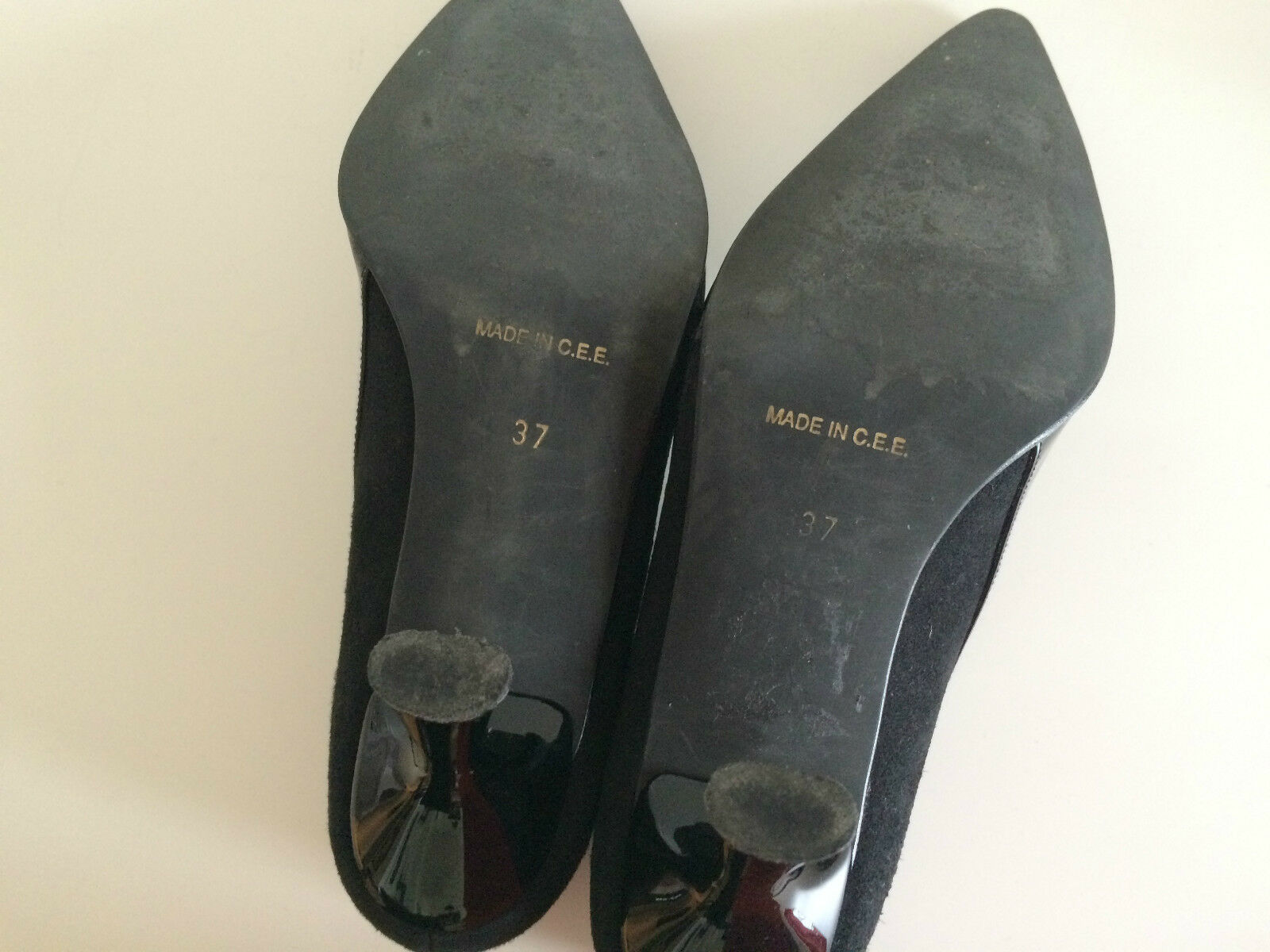 Ashley Mix Brooke elegante  Schuhe Mix Ashley Wildleder und Lack, Schwarz Gr.37 edf6df