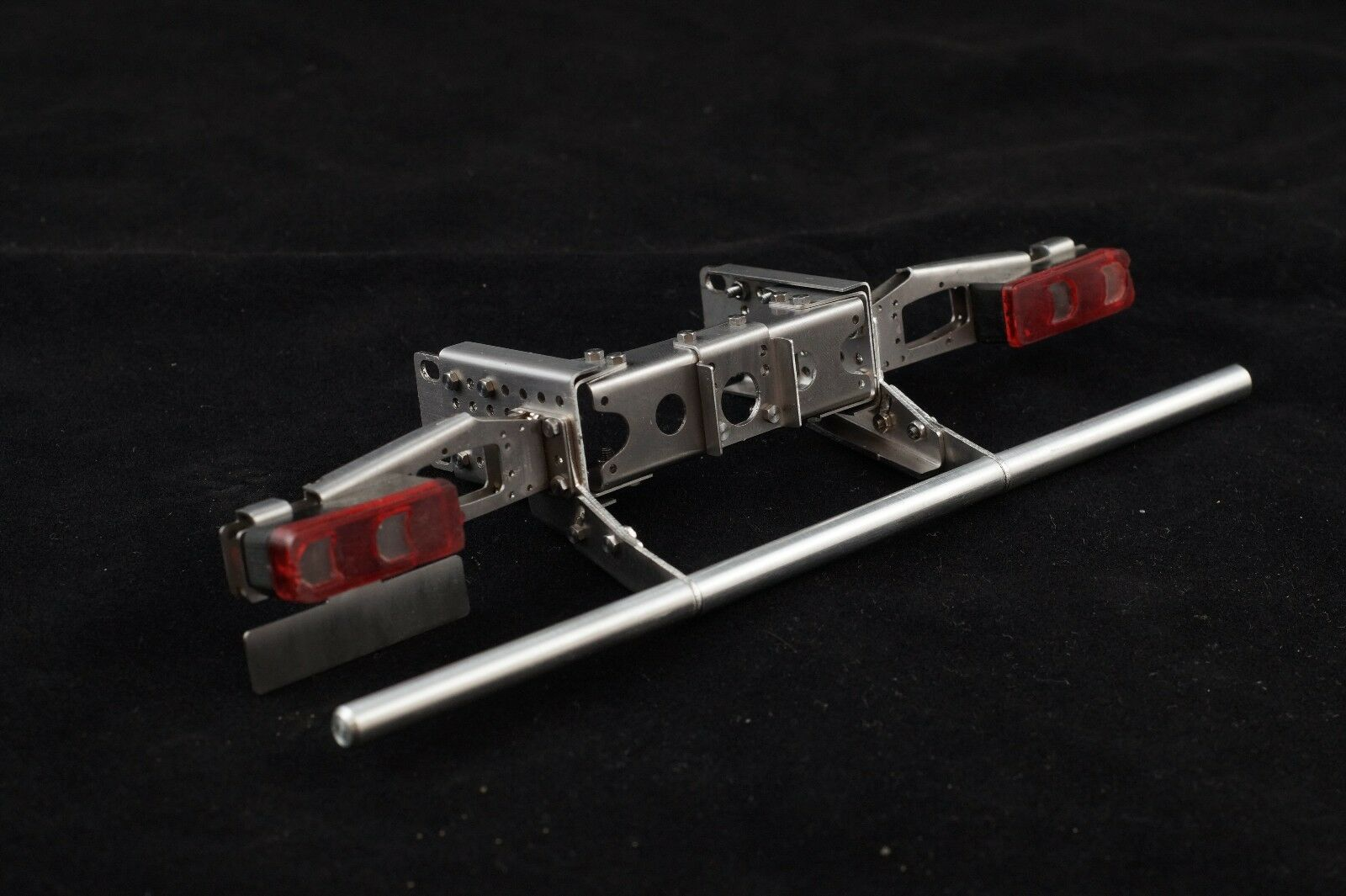 1 14 Frame end Arocs set with lights and bumper for tamiya trucks  SCALE-PARTS