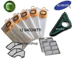 Ricambi sacchetti folletto Vk 140 150 12 compatibile 12 sacchetti 12 profumi