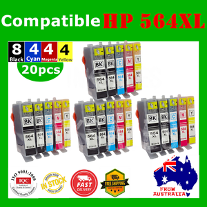 20x-Ink-Cartridges-For-HP-564XL-Photosmart-3070-7520e-B109a-C410b-5520-HP564XL