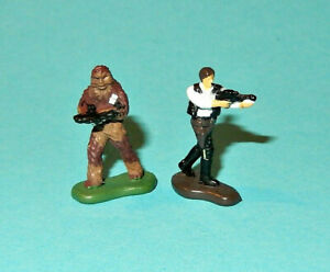 STAR-WARS-Micro-Machines-HAN-SOLO-amp-CHEWBACCA-Ep-IV-ANH-figures-lot-P