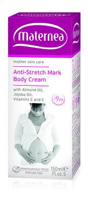 Maternea Anti Stretch Marks Body Cream During Pregnancy 150ml