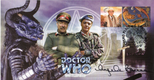 "Dr Who ""Battlefield"" Episode Signed by ANGELA BRUCE"