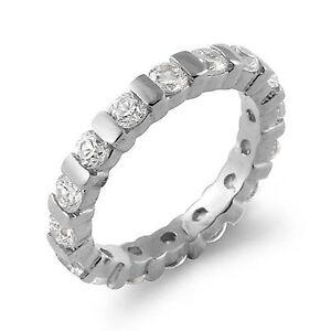 Image Is Loading 1 75 Ct Round Bar Set Bridal Diamond