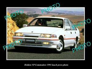 OLD-POSTCARD-SIZE-PHOTO-OF-GMH-1991-VP-HOLDEN-COMMODORE-LAUNCH-PRESS-PHOTO