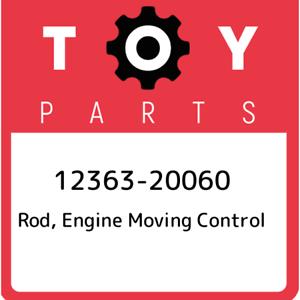 12363-20060 Toyota Rod engine moving control 1236320060 New Genuine OEM Part