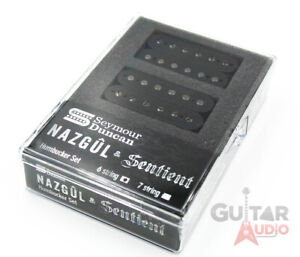 seymour duncan nazg l sentient 6 string humbucker guitar pickups set black ebay. Black Bedroom Furniture Sets. Home Design Ideas