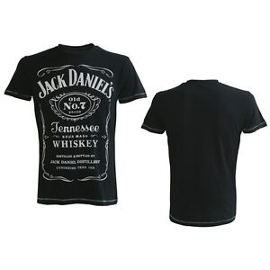 7 t-shirt Officiel jack daniels old no