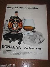 AA22=1963=VECCHIA ROMAGNA ETICHETTA NERA=PUBBLICITA'=ADVERTISING=WERBUNG=