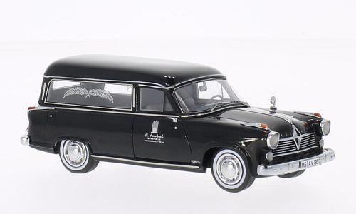 Neo Neo Neo 1 43 Borgward Hansa 2400 Rappold, negro 2f0043