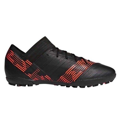 adidas NEMEZIZ TANGO 17.3 TF Mens Black/Solar Red CP9098 Soccer Shoes SIZE 10 US